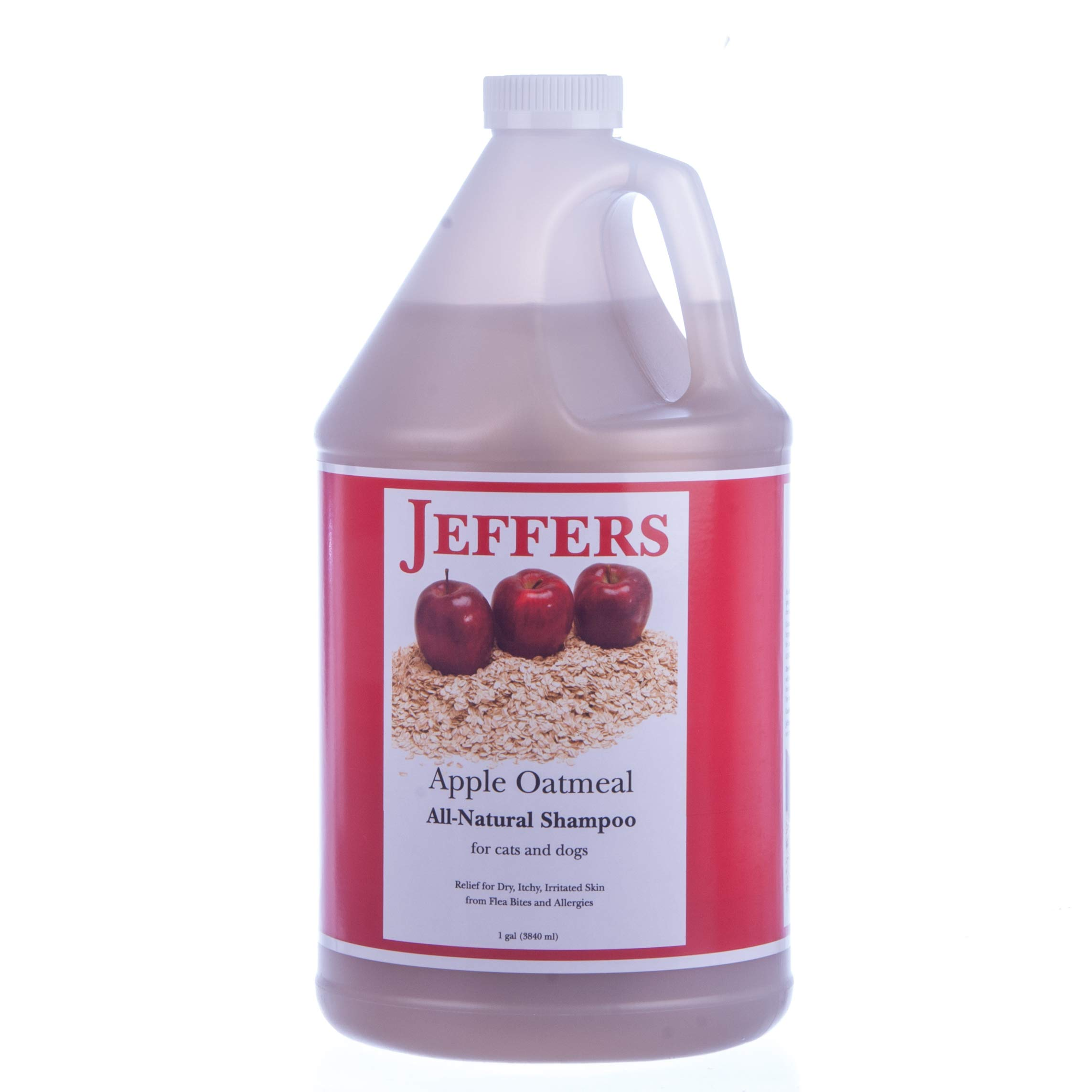 Jeffers Apple Deluxe Oatmeal Shampoo, Gallon by Jeffers