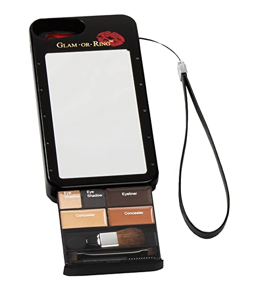 detailed look 10e17 26441 Glam Or Ring Makeup Phone Case for Med. Dark to Deep Skin Tones