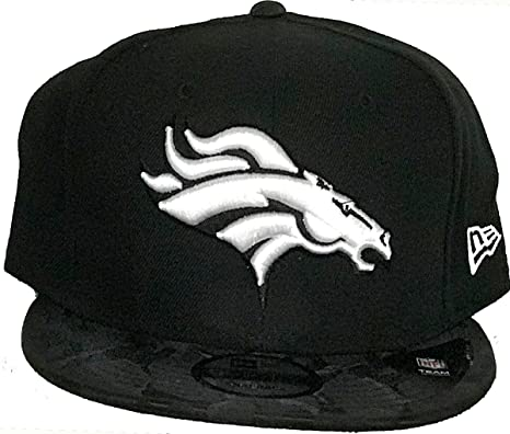 Image Unavailable. Image not available for. Color  New Era Authentic Denver  Broncos Black Camo Shade 9FIFTY ... f1223c0a9