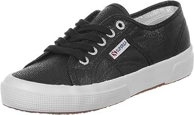 Superga 2750 Lamew, Sneakers Basses femme, Noir (999 Black), 36 EU