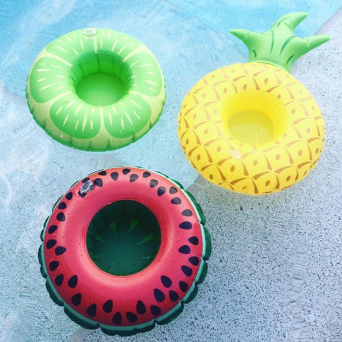Compra 3pcs hinchable fruta de forma de cuencos de soporte, lommer ...