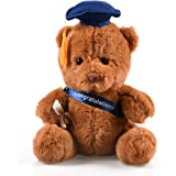 hey seven Graduation Bear 10 inch Class of 2020 Stuffed Animal Plush Gift Bear (Blue)