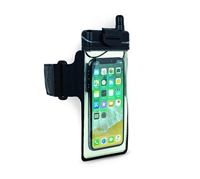 new styles 9ae00 96f80 H2O Audio Universal Waterproof Smartphone Case Armband Amphibx for iPhone  Xs, XS Max, X, XR, 8, 8 Plus Floatable Pouch Bag