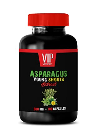Amazon.com: Asparagus Young Shoots Extract 600 MG Asparagus ...