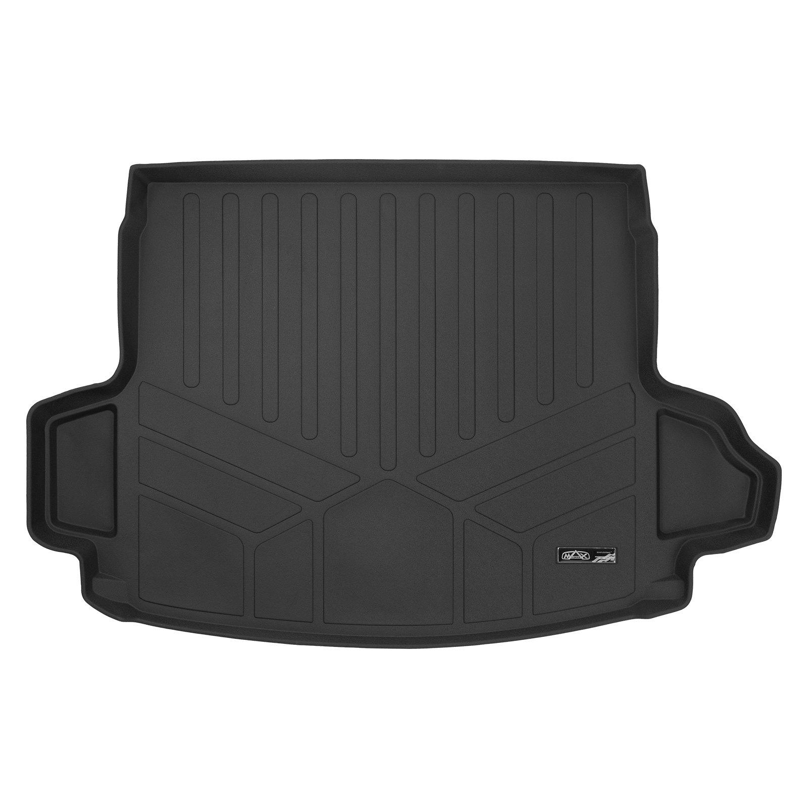 MAXLINER Custom Fit Floor Mats and Cargo Liner Set Black for 2017-2019 Honda CR-V Factory Upper Deck Position