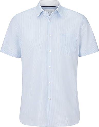 Lacoste CH0006 - Camiseta de manga corta para hombre, diseño a rayas: Amazon.es: Ropa y accesorios