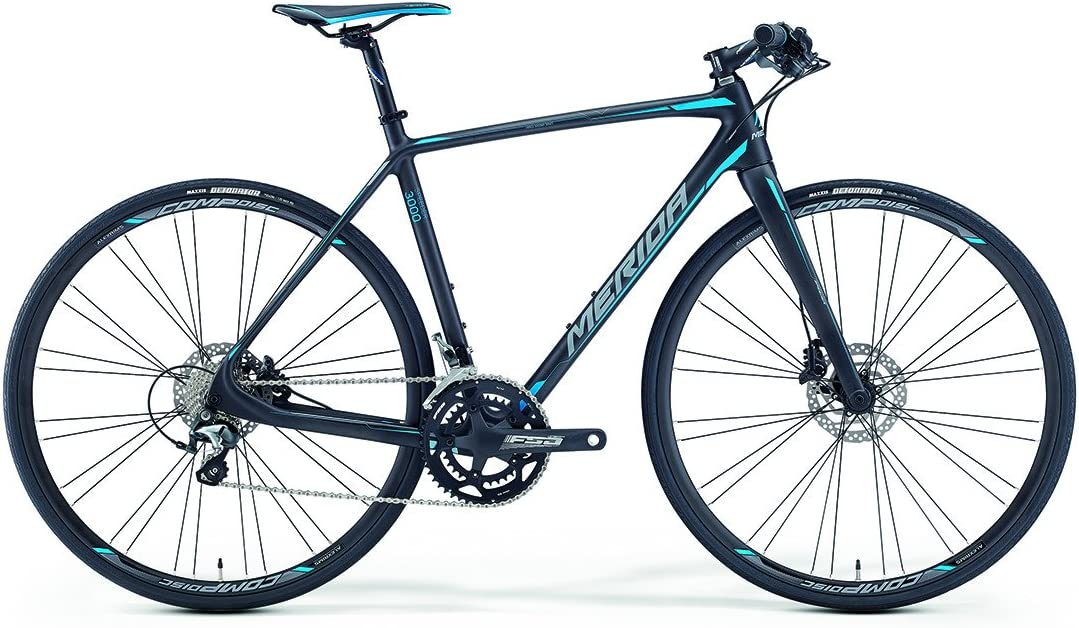 Merida Speeder 3000 28 pulgadas Fitness Bike Negro/Azul (2016 ...