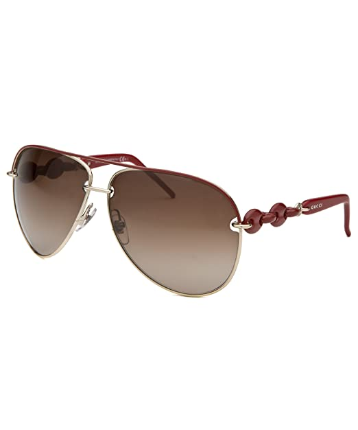 2742031b6c8 Gucci GG 4225S WPXJD Red Gold Brown Gradient Sunglasses  Amazon.ca   Clothing   Accessories