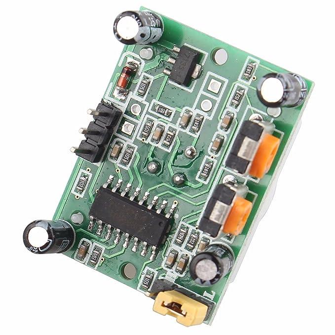 5PCS HC-SR501 Cuerpo Humano infrarrojos piroeléctricos Sensor de detección de movimiento PIR Módulos Detectores: Amazon.es: Electrónica