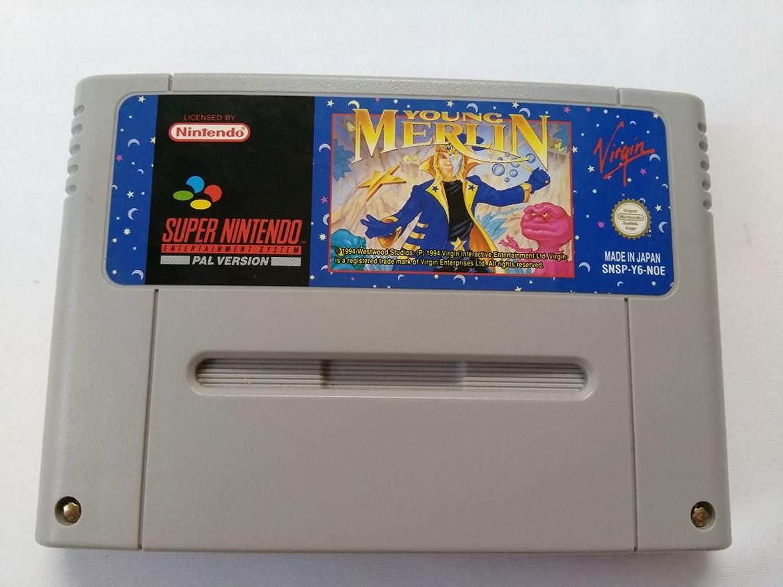Young Merlin SUPER NINTENDO [PAL ESPAÑA]: Amazon.es: Videojuegos
