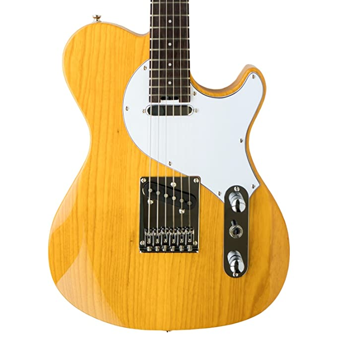 Guitarra electrica cuerpo macizo Cort CLASSIC TC SBN: Amazon.es: Instrumentos musicales