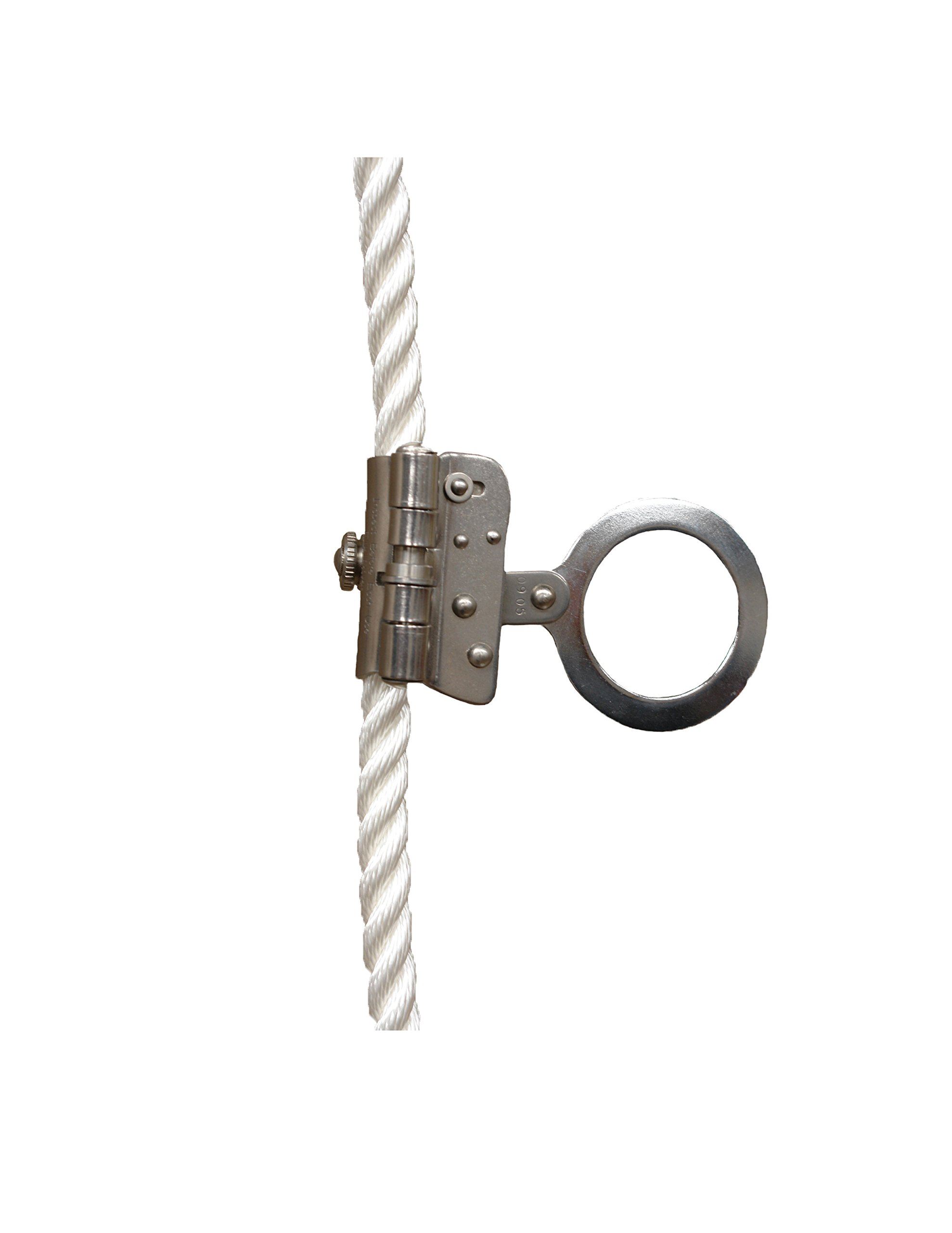 Elk River 19250 Dual Size Trailing Rope Grab with 2'' Ring and Anti-Inversion, 5/8'' x 3/4'' Size