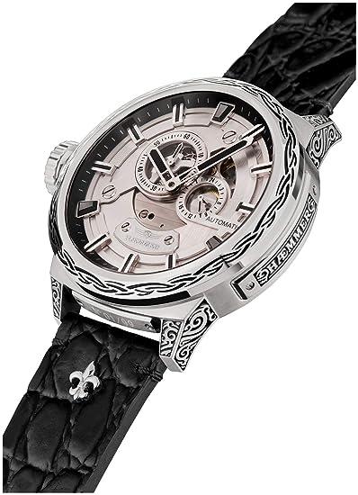 hæmmer Big Honor Esqueletos de Hombre automático Reloj de Acero Inoxidable   Exklusiv Caballero Reloj de