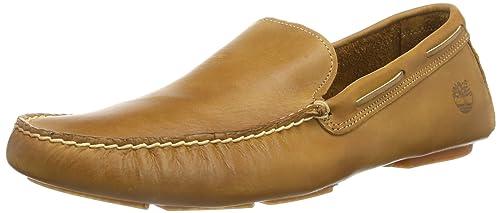 Timberland - Mocasines de cuero para hombre, color marrón, talla 40: Amazon.es: Zapatos y complementos
