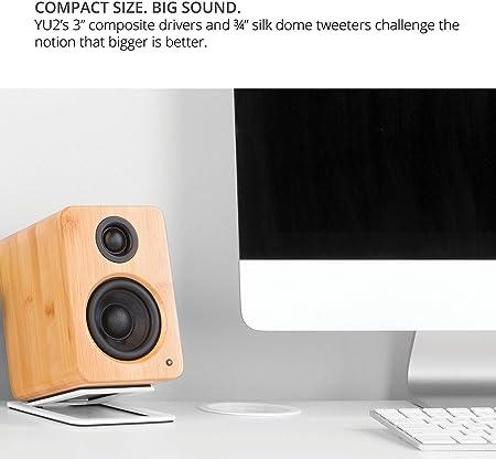 Kanto Yu2 Aktive Computerlautsprecher Mit Integrierter Usb Soundkarte