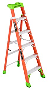 Louisville Ladder FXS1506, 6-feet, Orange
