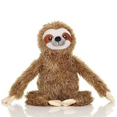 Squirrel Products Cuddle Mates Stuffed Animal Plush Toy - 14 Inch - Sloth: Toys & Games