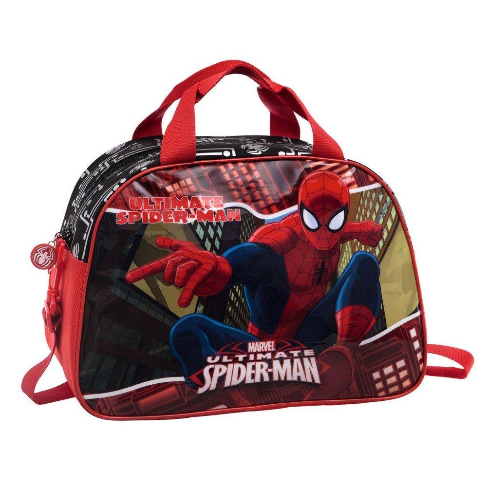 MARVEL Spiderman Sac de Voyage, 40 cm, 24.64 L, Rouge