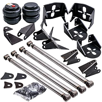 Universal Heavy Duty Parallel 4-Link Rear Suspension Kit Radius Arm