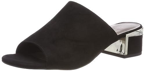 27253, Mules para Mujer, Negro (Black), 38 EU Tamaris