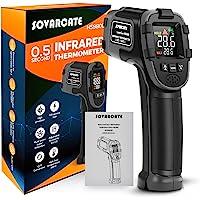 Termómetro Infrarrojo SOVARCATE Termómetro Láser Digital IR Pistola de Temperatura Alarma de Temperatura Alta y Baja -26…
