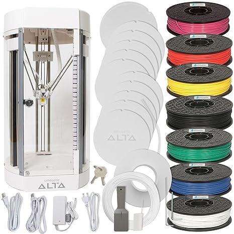 Amazon.com: Silhouette Alta - Paquete de impresora 3D con ...
