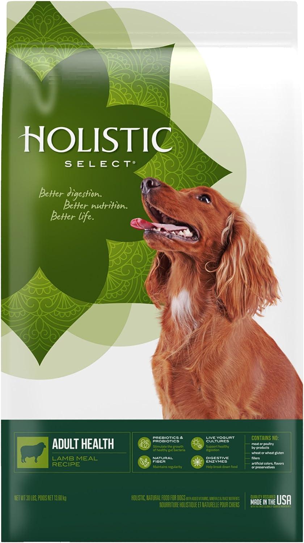 Holistic Select Natural Dry Dog Food Lamb