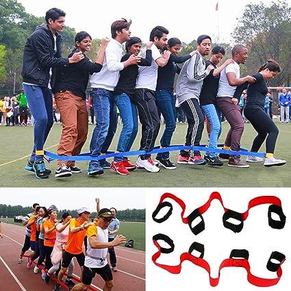 Jinsey 4 Legged Race Bandas Al Aire Ultima Intervension Juegos Para