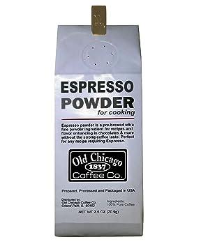Old Chicago Coffee Espresso Powder