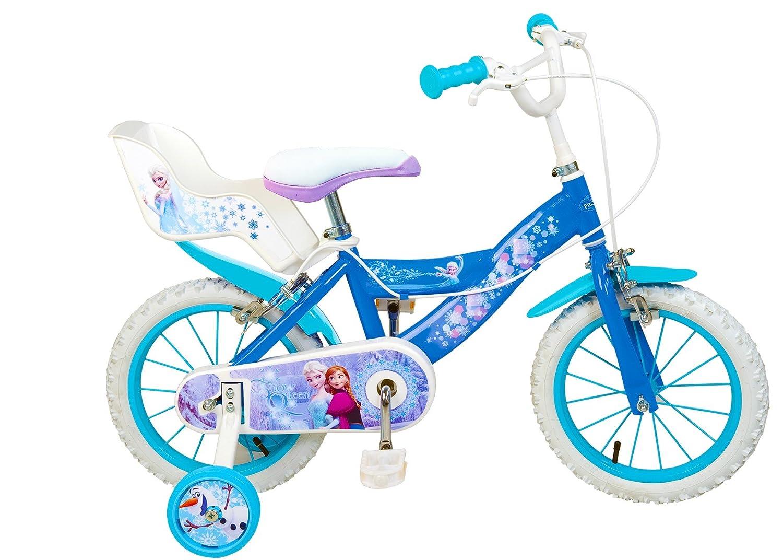 TOIMSA Frozen - Bicicleta 16 Pulgadas: Amazon.es: Juguetes y juegos