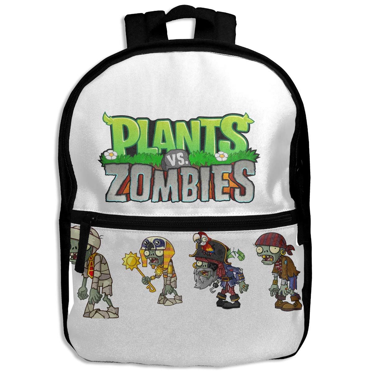 Amazon.com | Kids Childrens Backpack School Bag Plants Vs ...