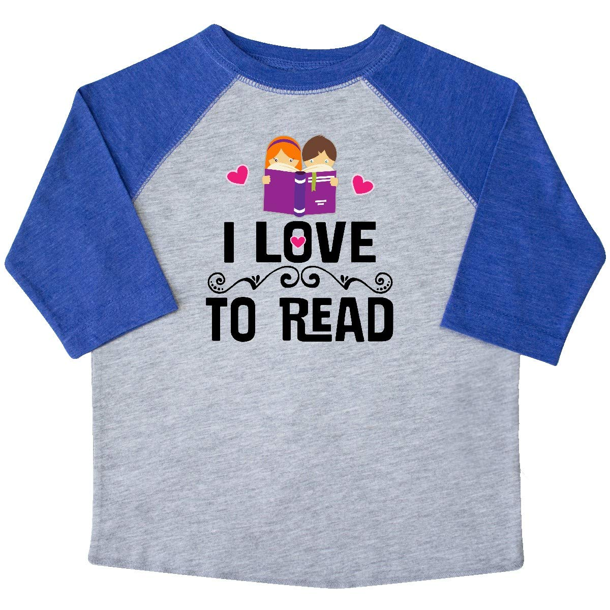 inktastic I Love to Read Toddler T-Shirt
