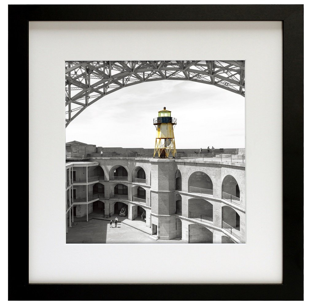 Frametory, 12x12 Black Square Picture Frame - Instagram Picture Frame - Matted to Fit Pictures 8x8 Inches or 12x12 Without Mat (Wood, 12x12)