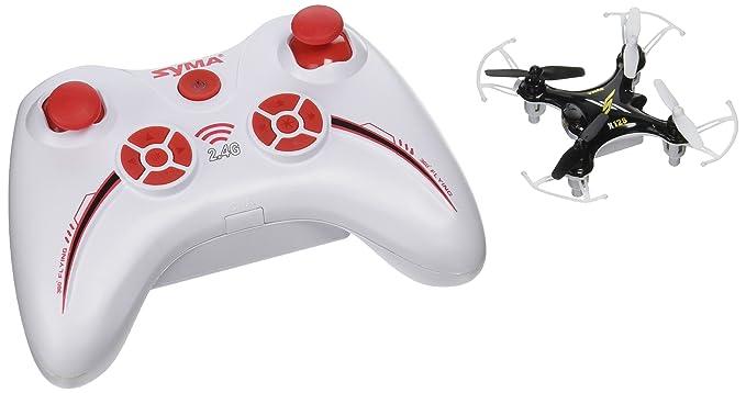 62985cfe63b Amazon.com: SYMA X12 Black 4CH 2.4G Nano Quadcopter: Toys & Games