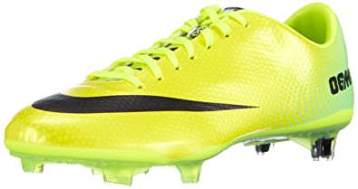 premium selection b2eb7 293fa Nike Mens Mercurial Vapor IX FG (Vibrant Yellow Black Neo Lime) (