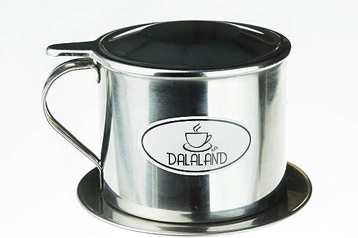 Cafetera vietnamita de acero inoxidable por Dalaland, inserto de ...