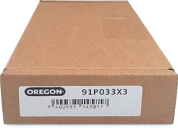 Oregon 3x S/ägekette 3//8 Zoll Teilung .050 Zoll 14 Zoll und 50 Antriebsglieder f/ür 35 cm Schnittl/änge - 3er-Pack passend f/ür verschiedene Stihl-Modelle 1,3 mm Treibgliedst/ärke