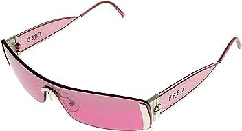 4e537a720ad Fred Lunettes Sunmarine Sunglasses Womens MARINE F1 702 Rimless Clear Rose