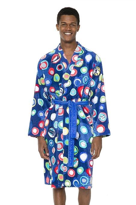 Desigual Manolos Dressing Gown Cotton Blue, Navy, 125 x 35 x 1 cm ...