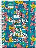 Finocam - Agenda Curso 2020-2021 Octavo - Semana Vista Apaisada Secundaria Imposible Español, 8º - 120 x 164 (mediano)