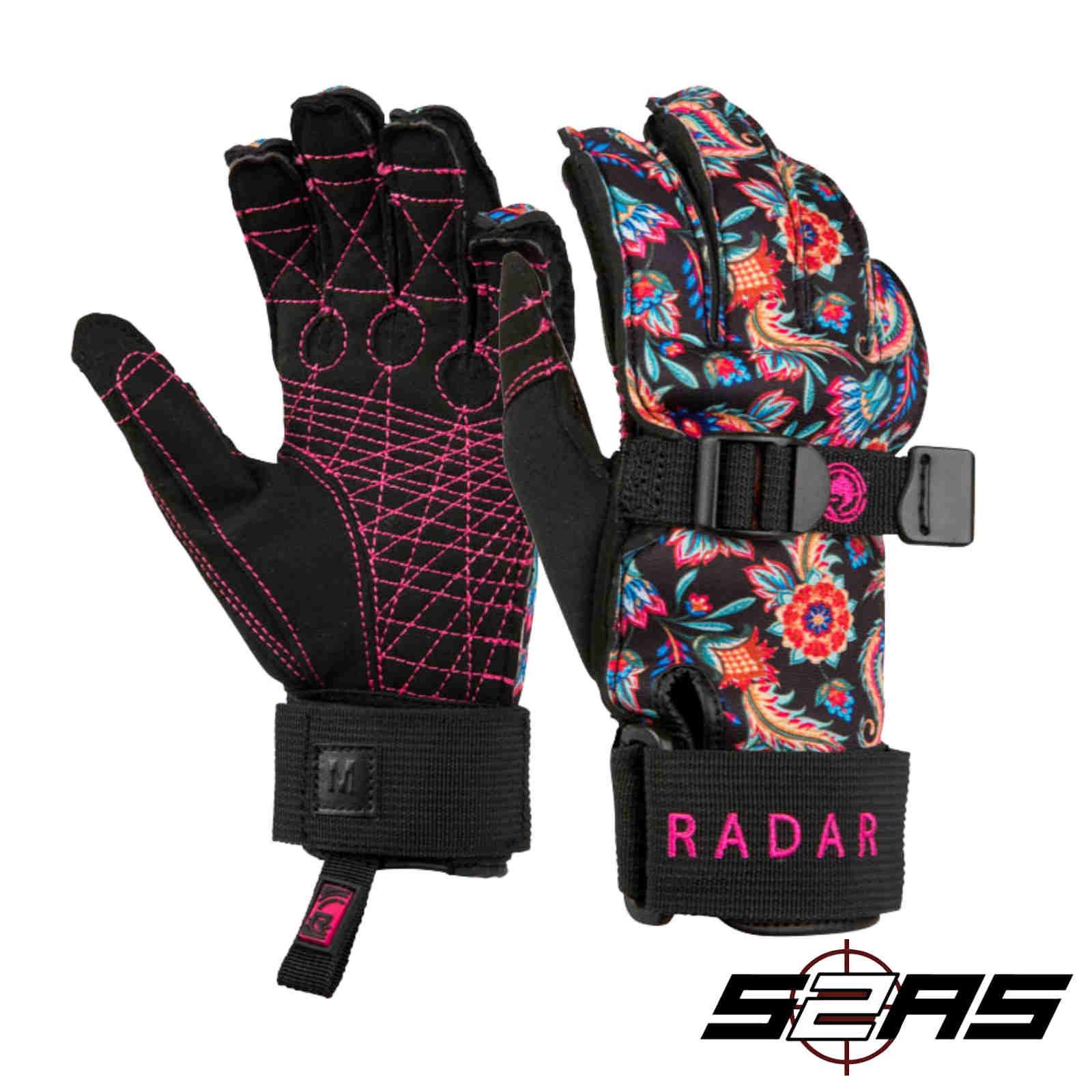 Radar Lyric Inside-Out Waterski Glove Black (Xs) by Radar
