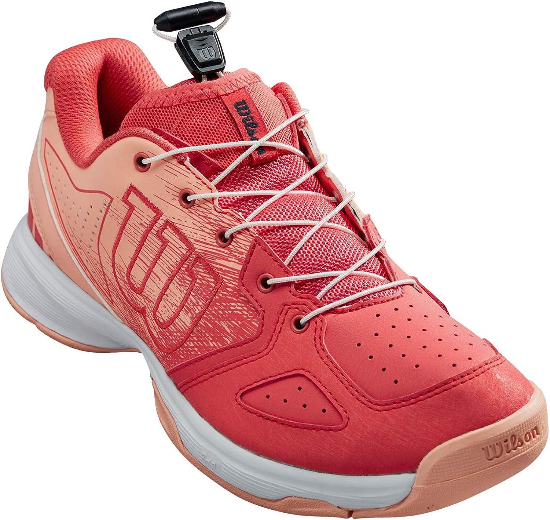 Zapatillas de Tenis Wilson Kaos Junior Ql Tenistas de Cualquier Nivel para Ni/ños para Todo Tipo de Superficie