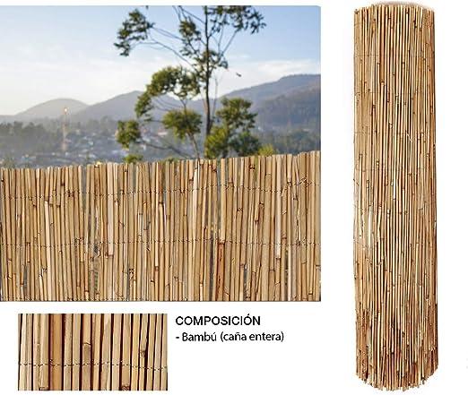 Comercial Candela Cañizo de Bambu Pelado 1x3 Metros: Amazon.es: Jardín