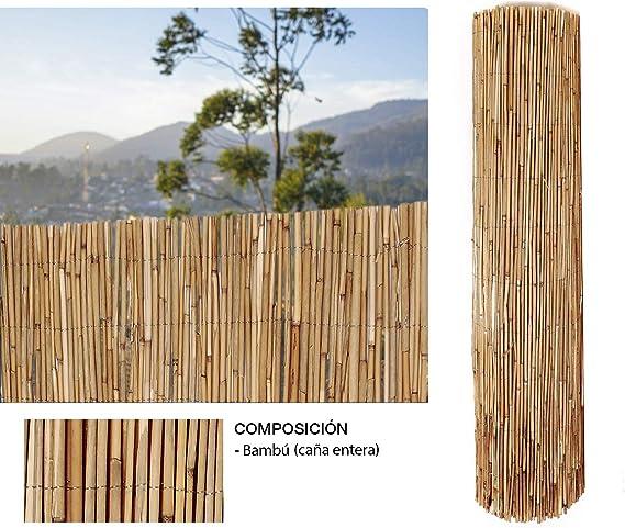 Comercial Candela Cañizo de Bambu Pelado 1, 5x3 Metros: Amazon.es: Jardín