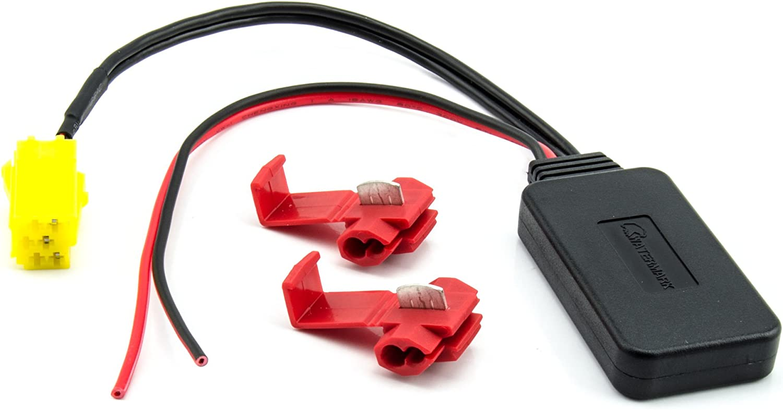 Bluetooth Aux Adapter Für Fiat Alfa Citroen Peugeot Opel Mp3 Musik Streaming Spotify Elektronik