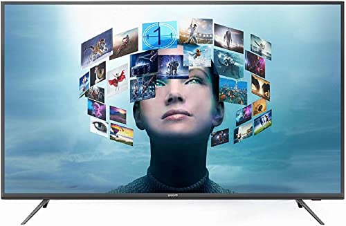 9. Sanyo 138.8 cm (55 Inches) 4K Ultra HD IPS LED Smart Certified Android TV XT-55A081U