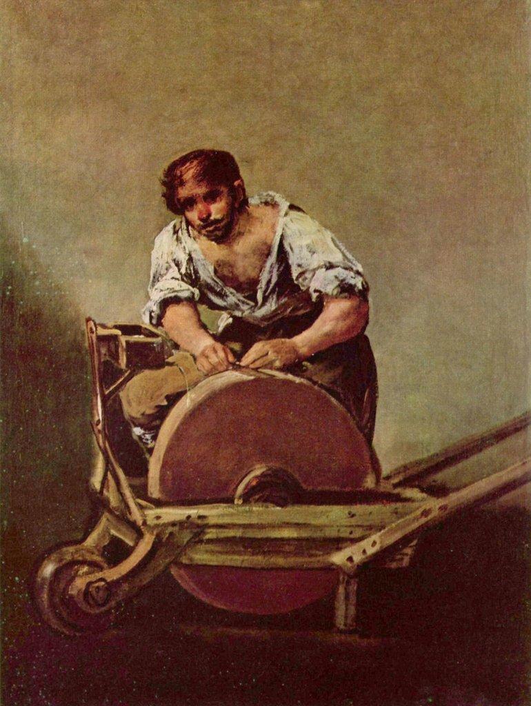 Lais Puzzle Francisco de Goya y Lucientes - The Grinder ( El Afilador ) 2000 Pezzi