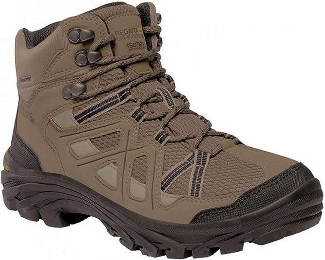 Regatta Women/'s Burrell II Waterproof Hiking Boots Brown