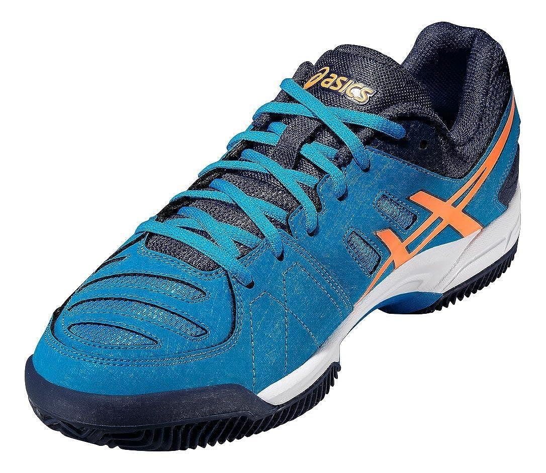 116dabd07 Asics Tenis Gel-Padel Pro 3 Gs Blue   Orange 35 Junior  Amazon.es  Deportes  y aire libre