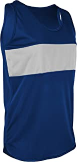 product image for TR-960W-CB Women's Athletic Single Ply Solid Color Track Singlet with Front Panel